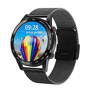 cheap Smartwatches-DT95 Hybrid-face Smartwatch Support Bluetooth Play Music &ECG,  IP68 Water-resistant Fitness Tracker Compatible with IOS/Samsung/Android Phones