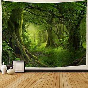 cheap Wall Tapestries-Garden Theme / Bohemian Theme Wall Decor Polyester Tie Dye Wall Art, 25*25*1 cm Decoration