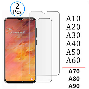 cheap iPhone Cases-1pcs/2pcs Tempered Glass for samsung a10 a20 a30 a40 a50 a70 Screen Protector Safety Tremp on galaxy a 10 20 30 40 50 a80 a90 Tempered Glass
