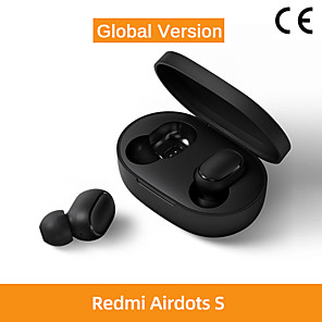 cheap TWS True Wireless Headphones-Xiaomi Redmi AirDots S TWS Wireless Earbuds Bluetooth5.0 Earphone Stereo Mini Light Headset Auto Charging box