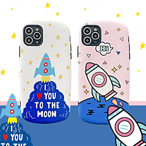 cheap Samsung Case-Cartoon Rocket Pattern TPU Case For Apple iPhone 11 Pro Max 8 Plus 7 Plus 6 Plus Max Back Cover