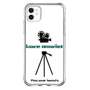 cheap iPhone Cases-Personalized Case For Apple iPhone 11 / iPhone 11 Pro / iPhone 11 Pro Max DIY Case Shockproof Back Cover Transparent Soft TPU