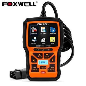 cheap OBD-FOXWELL NT301 OBD2 Scanner Professional EOBD OBDII Code Reader Engine Check ODB2 OBD 2 Automotive Scanner Car Diagnostic Tool