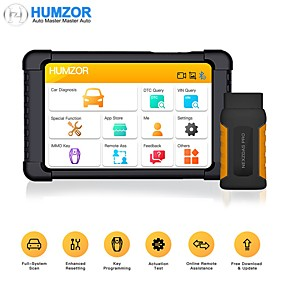 cheap Car Holder-Humzor NexzDAS Pro Bluetooth 10inch Tablet Full System Auto Diagnostic Tool OBD2 Scanner with IMMO/ABS/EPB/SAS/DPF/Oil Reset