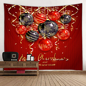 cheap Wall Tapestries-Christmas Santa Claus Wall Tapestry Art Decor Blanket Curtain Picnic Tablecloth Hanging Home Bedroom Living Room Dorm Decoration Gift Polyester