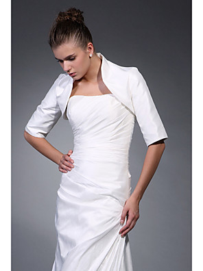 cheap Buy More, Save More-Coats / Jackets Satin Wedding / Party Evening Wedding  Wraps With