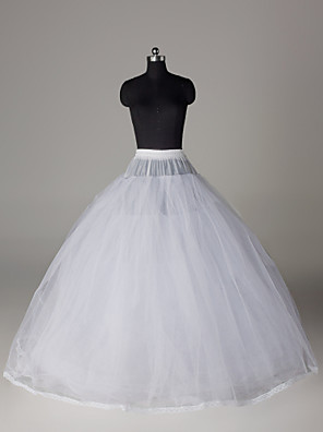cheap Wedding Slips-Wedding / Special Occasion / Party / Evening Slips Nylon / Tulle Floor-length Ball Gown Slip / Classic & Timeless with