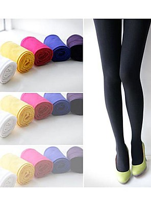 cheap Socks & Hosiery-Women's Medium Pantyhose - Solid Colored Green Pink Wine One-Size / Going out / Work / Club