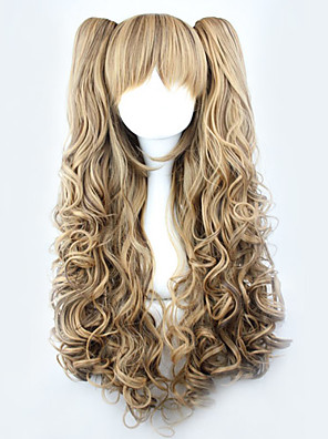 cheap Wedding Slips-Rozen Maiden Schnee Kristall Cosplay Wigs Women's 28 inch Heat Resistant Fiber Anime Wig