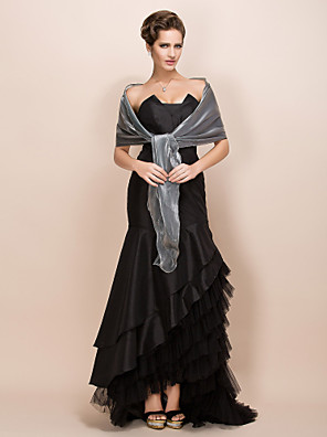 cheap Wedding Wraps-Shawls Satin Party Evening / Casual / Office & Career Wedding  Wraps / Shawls With