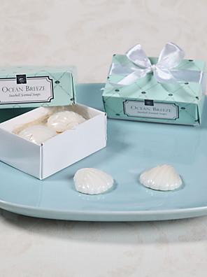 cheap Favor Holders-Wedding Bridal Shower Bath & Soaps Beach Theme-2 Wedding Favors