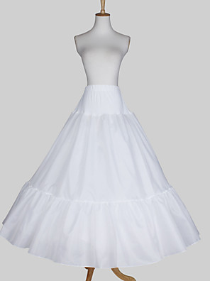 cheap Wedding Slips-Wedding / Special Occasion Slips Satin / Taffeta Floor-length A-Line Slip / Ball Gown Slip with