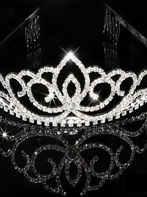 cheap Prom Dresses-Crystal Rhinestone Tiaras Headpiece