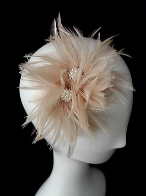 cheap Fascinators-Crystal / Leather / Fabric Tiaras / Fascinators with 1 Wedding / Special Occasion / Party / Evening Headpiece