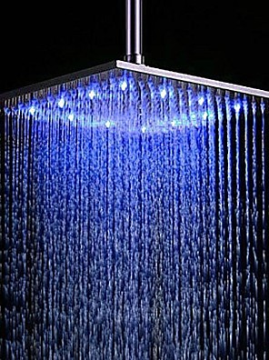 cheap rain shower head. Contemporary Rain Shower Brushed Feature  Rainfall LED Head Cheap Online for 2018