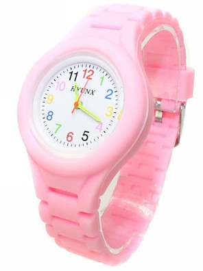 cheap Quartz Watches-Casual Watch Fashion Watch Quartz Ladies Casual Watch Silicone Black / White / Blue Analog - White Black Blue One Year Battery Life / ETA 377A