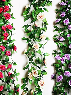 """cheap Smart Watches-95""""L 2Pcs Nine Beautiful Flowers 1 Branch in Roses Bine(Assorted Colors) Wedding Flower House Decor"""