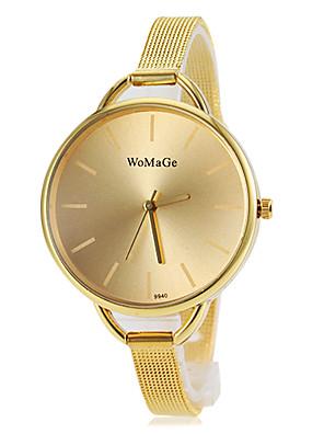 cheap Quartz Watches-Women's Fashion Watch Gold Watch Quartz Gold Casual Watch Analog Bangle - Gold One Year Battery Life / SSUO 377