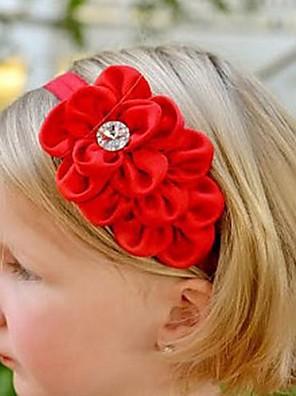 cheap Girls' Dresses-Kids Girls' Chiffon Hair Accessories Beige / Red One-Size / Headbands