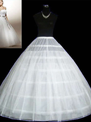 cheap Wedding Slips-Wedding / Special Occasion / Party / Evening Slips Tulle Floor-length Ball Gown Slip / Classic & Timeless with