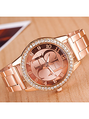 cheap Quartz Watches-Women's Quartz Gold Golden