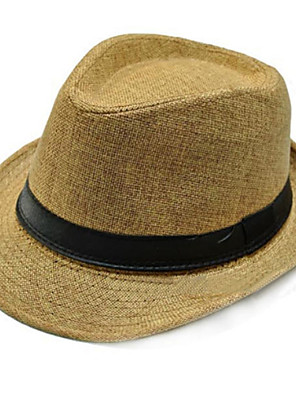 cheap Shirts-Women/Men Flax Hats With Occasion/Casual/Outdoor Headpiece (More Colors)