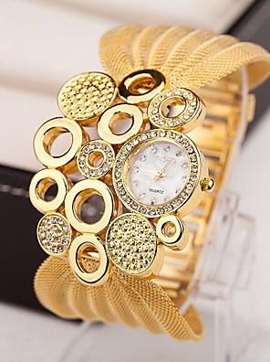 cheap Quartz Watches-Women's Luxury Watches Necklace Watch Diamond Watch Quartz Multi-Colored 30 m Imitation Diamond Analog Ladies Charm Vintage Fashion Elegant - Silver Golden Brown / Gold