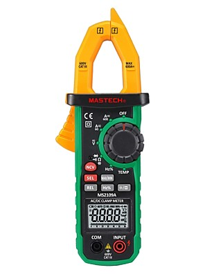 cheap Historical & Vintage Costumes-Mastech-ms2109a-600a Automatic Range Ac & Dc Current Clamp Digital Multimeter With Ncv+ Temperature +hz+ Lamp