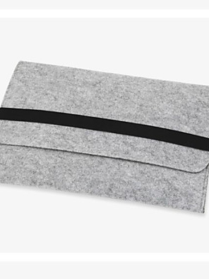 cheap Mac Accessories-11,13,15 inch Wool Felt Inner Notebook Laptop Sleeve Bag Case for Macbook Air/Pro/Retina Samsung HP Dell