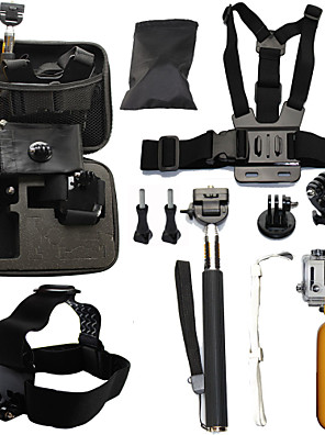 cheap Wedding Dresses-Telescopic Pole Chest Harness Front Mounting Waterproof Floating For Action Camera Gopro 6 All Gopro Gopro 5 Gopro 4 Gopro 4 Session Diving Surfing Ski / Snowboard Plastic Fiber Carbon / Gopro 3+