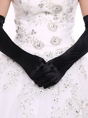 cheap Prom Dresses-Spandex Opera Length Glove Bridal Gloves Party/ Evening Gloves