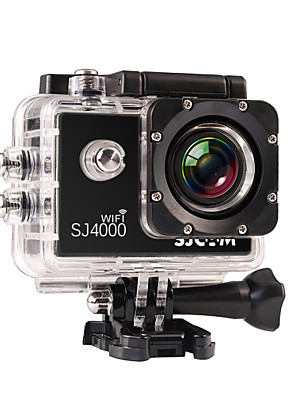 cheap Special Occasion Dresses-SJCAM SJ4000 WIFI Sports Action Camera Gopro Gopro & Accessories Outdoor Recreation vlogging Waterproof / WiFi 32 GB 8 mp / 5 mp / 3 mp 4x 1920 x 1080 Pixel 1.5 inch CMOS H.264 30 m ±2EV / iPhone iOS