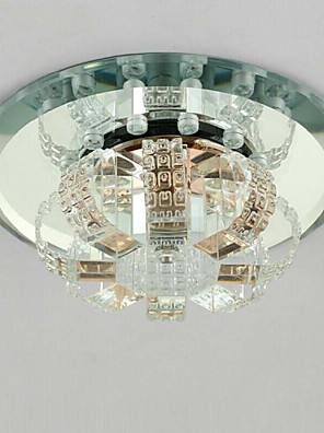 cheap Prom Dresses-1-Light Crystal / LED Flush Mount Lights Crystal Others Modern Contemporary 220-240V