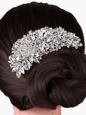 cheap Prom Dresses-Alloy Hair Combs with 1 Wedding / Special Occasion Headpiece