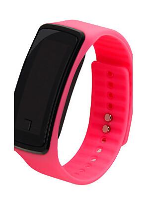 cheap Fashion Watches-Women's Sport Watch Fashion Watch Digital LCD Black / White / Blue Digital - White Black Purple