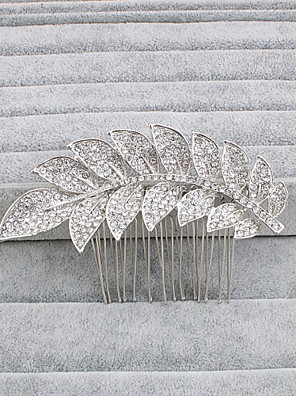 cheap Wedding Dresses-Rhinestone Hair Combs with 1 Wedding / Special Occasion / Casual Headpiece