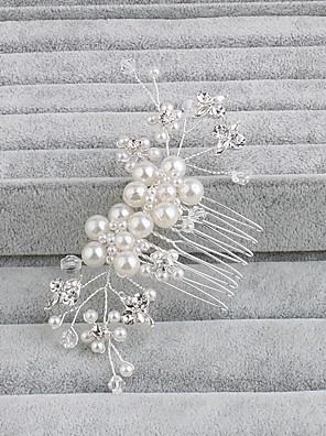 cheap Evening Dresses-Pearl Hair Combs with 1 Wedding / Special Occasion / Casual Headpiece