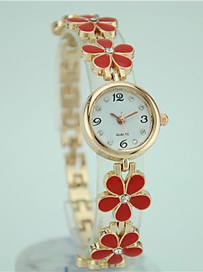 cheap Quartz Watches-Women's Bracelet Watch Quartz Ladies Casual Watch Black / White / Red Analog - White Black Red One Year Battery Life / Tianqiu 377