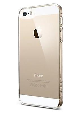 povoljno iPhone maske-Θήκη Za iPhone 5 / Apple iPhone SE / 5s / iPhone 5 Ultra tanko / Prozirno Stražnja maska Jednobojni Mekano TPU