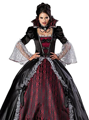 Vampire Dress Cosplay Costume Party Costume Adults  Women s Christmas  Halloween Carnival Festival   Holiday Terylene c8f54d1d09