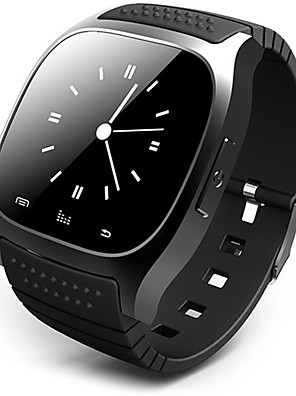 cheap Smart Watches-Men's Smartwatch Digital Watch Hybrid Watch Digital Luxury Touch Screen Rubber Black / White / Blue Digital - White Black Blue / Alarm / Calendar / date / day / Remote Control / RC / Pedometers