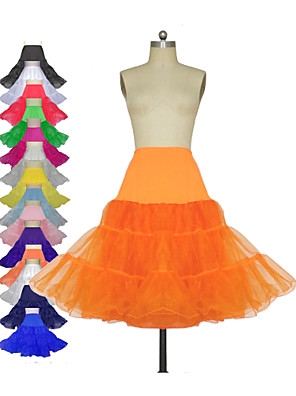 cheap Wedding Slips-Wedding / Special Occasion / Party / Evening Slips Tulle / Lycra / Polyester Knee-Length Classic & Timeless with