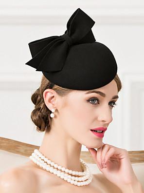 cheap Junior Bridesmaid Dresses-Wool Hats Headpiece