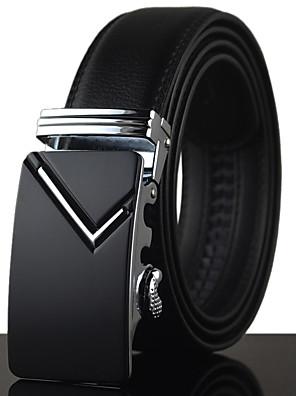 cheap Men's Belt-Men's Party / Work Waist Belt - Solid Colored Modern Style