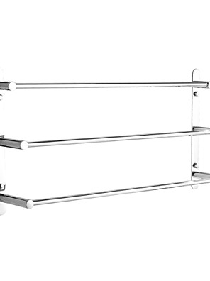 cheap Women's Skirts-Towel Racks 3-Tiers Bath Towel Bar , Stainless Steel, Wall Mount, Mirror polished finished, High quality