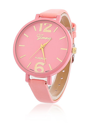 cheap Quartz Watches-Women's Ladies Wrist Watch Quartz Leather Black / White / Blue Casual Watch Analog Casual Fashion - Blue Pink Light Green One Year Battery Life / Tianqiu 377