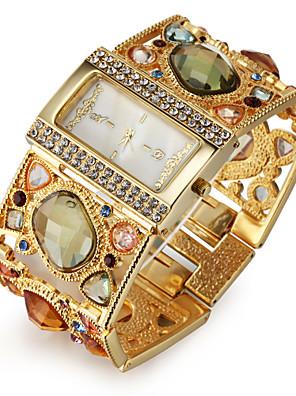 cheap Quartz Watches-Women's Luxury Watches Bracelet Watch Diamond Watch Quartz Ladies Imitation Diamond Analog Black Gold / One Year / Japanese / Japanese / One Year / SSUO SR626SW