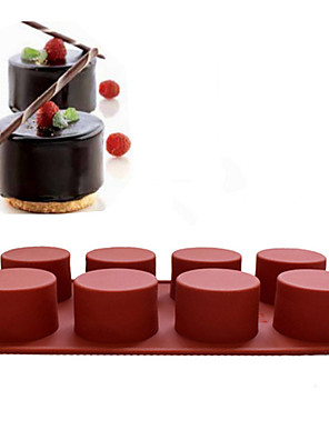 cheap Evening Dresses-Silicone Christmas Holiday Halloween For Cake For Cupcake Mold Bakeware tools