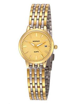 cheap Quartz Watches-Women's Fashion Watch Quartz Silver / Gold Analog Black Silver Black / Gold