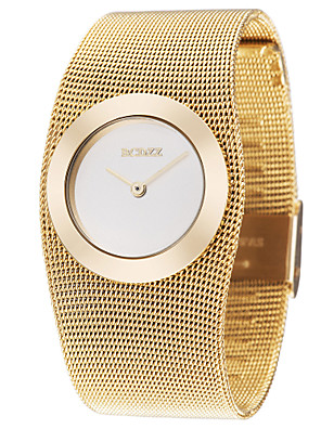 cheap Quartz Watches-ASJ Women's Luxury Watches Wrist Watch Gold Watch Japanese Copper Gold Casual Watch Analog Ladies Luxury Fashion Elegant - Golden One Year Battery Life / SSUO SR626SW